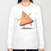 pyramid Long Sleeve T-shirts featuring Pyramid by Pumpkin Snipes