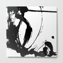 Brushstrokes No.15A by Kathy Morton Stanion Metal Print
