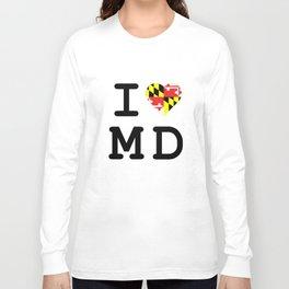 I Heart MD Long Sleeve T-shirt