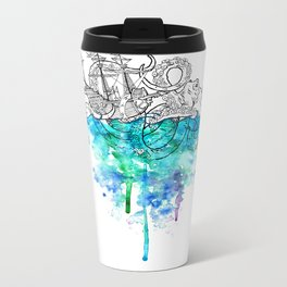 From the Deep, Deep Down. Metal Travel Mug
