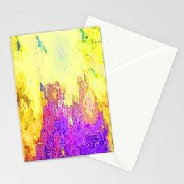Life's Eruption  Stationery Cards