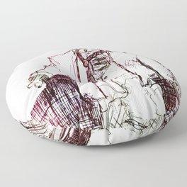 Zombie Floor Pillow