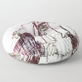 Zombie Floor Pillow