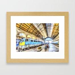 Keleti Railway Station Budapest Art Framed Art Print