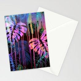 Drippy Jungle {acid} Stationery Cards
