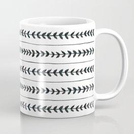 Laurel stripe - back and forth Coffee Mug