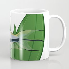 Nematobrycon palmeri with Echinodous leaves Coffee Mug