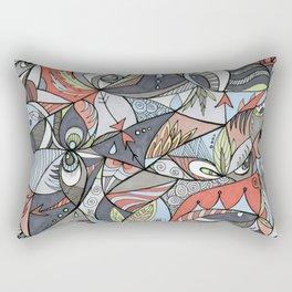 We See Rectangular Pillow