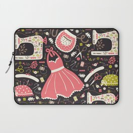 Vintage Sewing Laptop Sleeve
