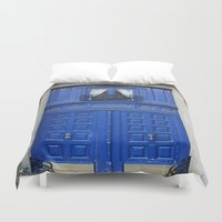 door Duvet Covers featuring Door by LeicaCologne Germany