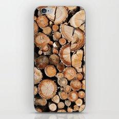 Logs stock iPhone & iPod Skin