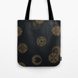 Japenese Black and Gold Tote Bag