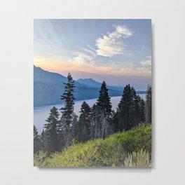 Fallen Leaf Lake Metal Print