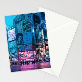 Akihabara Neon Dream Stationery Cards