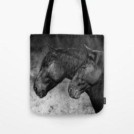 Evolution of the modern warmbloodhorse Tote Bag