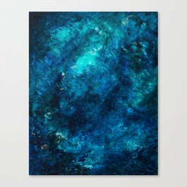 My Darling Sea, No. 1 Canvas Print