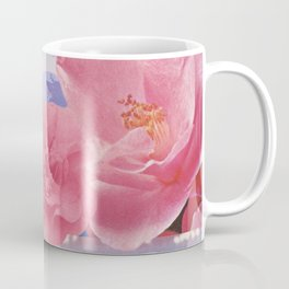 Floral Flamingos Coffee Mug