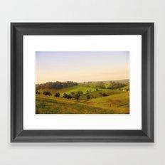 Daylight & Shadows Framed Art Print