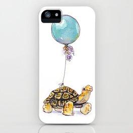 Birthday Tortoise iPhone Case