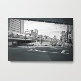 [3JP001] Hamamatsuchou JAPAN Metal Print