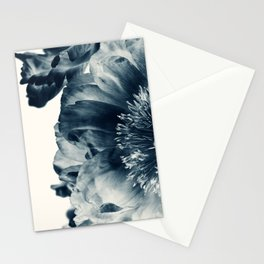 Blue Paeonia #6 Stationery Cards