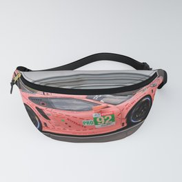 Pink Pig RSR Sports Car 24 Hours of Le Mans Fanny Pack