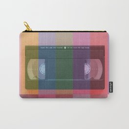 VHS_tvcolorbar_effect Carry-All Pouch