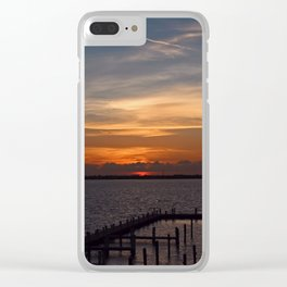 Shifting Shades Clear iPhone Case