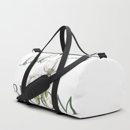 Let this book lover bloom Duffle Bag