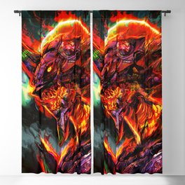 evangelion Blackout Curtain
