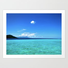 Blue Water Dream Art Print