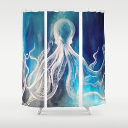 Canvas Painting Shower Curtains