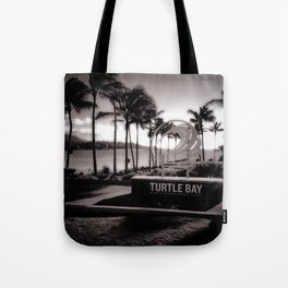 Turtle Bay Resort Hawaii Tote Bag