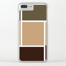 Twine Pathway Clear iPhone Case