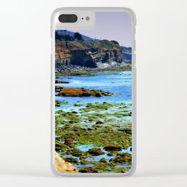 The world Is So Big And I Am So Small ~Southern California Clear iPhone Case