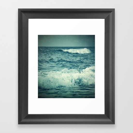 The Sea IV. Framed Art Print