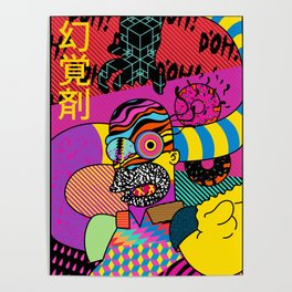Trippin' Homer Poster