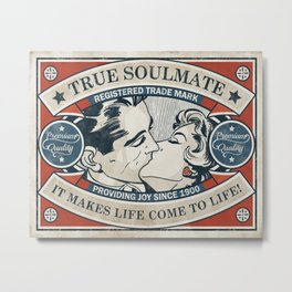 True Soulmate Metal Print