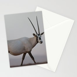 Oryx animal in the desert Stationery Cards