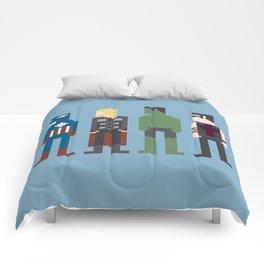 The Avengers 8-Bit Comforters