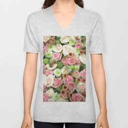 Everything is Just Rosy Unisex V-Neck