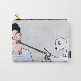 Saving the polar bears Carry-All Pouch