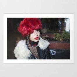 Faux Fur Art Print
