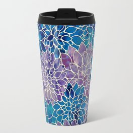 Floral Abstract 34 Travel Mug