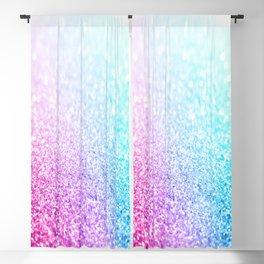 Uniorn Sparkle Pink Lavender Blue Seafoam Blackout Curtain