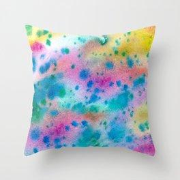 Fairy rain Throw Pillow