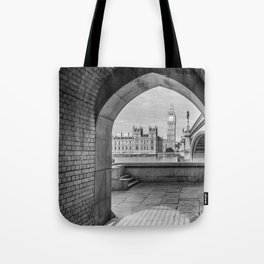 Big ben and bridge Tote Bag