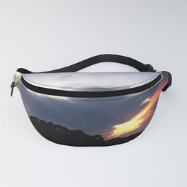 The Storm Clouds Retreat Fanny Pack