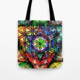 Soul Essence - The Sacred Geometry Collection Tote Bag
