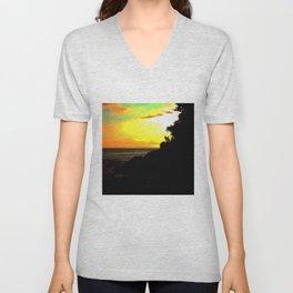 Sunset Chasers Unisex V-Neck